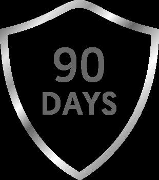 90 days Guarantee