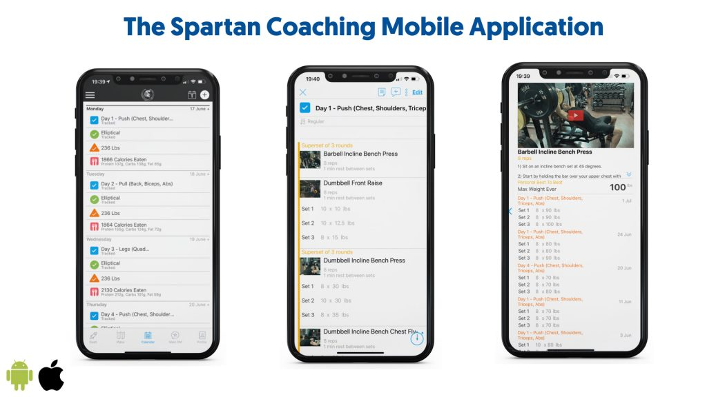 Spartan Coaching Mobile Application